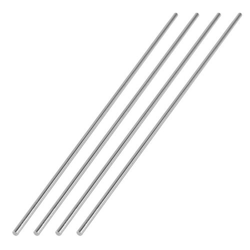 4Pcs 150mm x 2mm Silver Tone Metal Round Rod for RC Aircraft Model Z6A1 5X