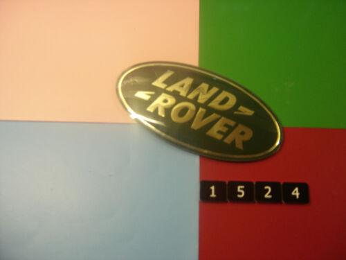 Nuevo viejo stock land rover frontal Rejilla Green /& Gold insertar Insignia Emblema LR002717