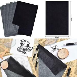 Black Tracing Paper for Wood ... Paper Hotop 100 Sheets Carbon Transfer Paper