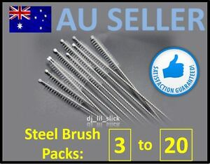 20-New-Stainless-Steel-Drinking-Straw-Cleaning-Brush-Metal-Nylon-Brushes-Straws