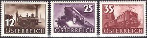 ZOR-0053-AUTRICHE-1937-TRAIN-N-503-504-505-MNH-CV-17-00-COMPLET-RECHERCHE