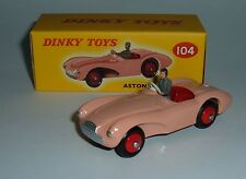 Atlas / Dinky Toys No. 104, Aston Martin DB3S, - Superb Mint.