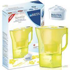 BRITA Navelia Mezzanotte Giallo 2,3 L Filtro Per Brocca Dell'acqua + 1 Maxtra