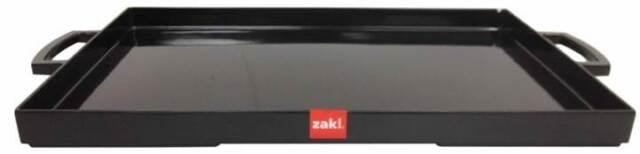 Zak Designs Mee Mee Range Melamine Rectangle Serving Tray Black