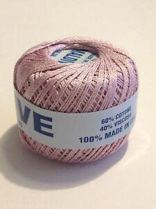 Dettagli su Filati maglia uncinetto gomitoli misto 60% Cotone 40% Viscosa Antico
