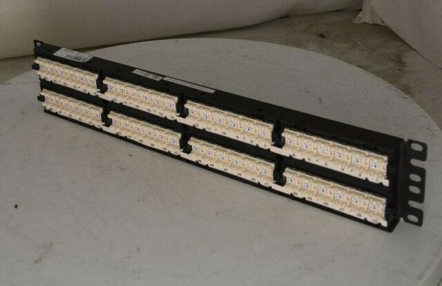 Panduit DP5e DP485E88TGY 48 Port Patch Panel SEE NOTES | eBay