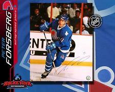 Peter Forsberg SIGNED Quebec Nordiques 16X20 Photo -77170