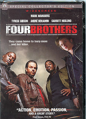 FOUR BROTHERS Widescreen MARK WAHLBERG Tyrese Gibson BRAND NEW & FACTORY SEALED