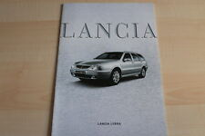 87350) Lancia Lybra Prospekt 01/2002