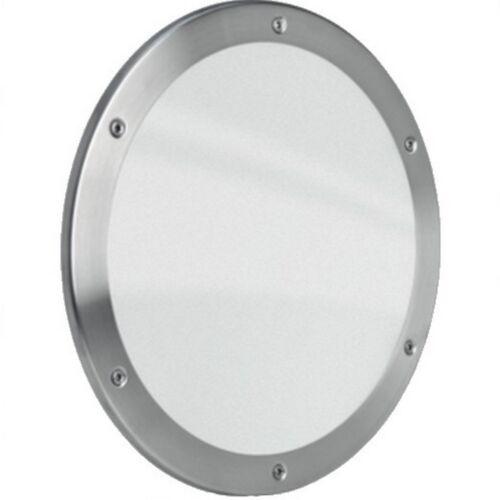 MLS hublot b5000 rundfenster inox brossé Ø 25 cm Verre Mat 0180-0190