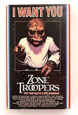 ZONE TROOPERS Vintage Beta Betamax Video Movie Videotape 1986 Sci-Fi