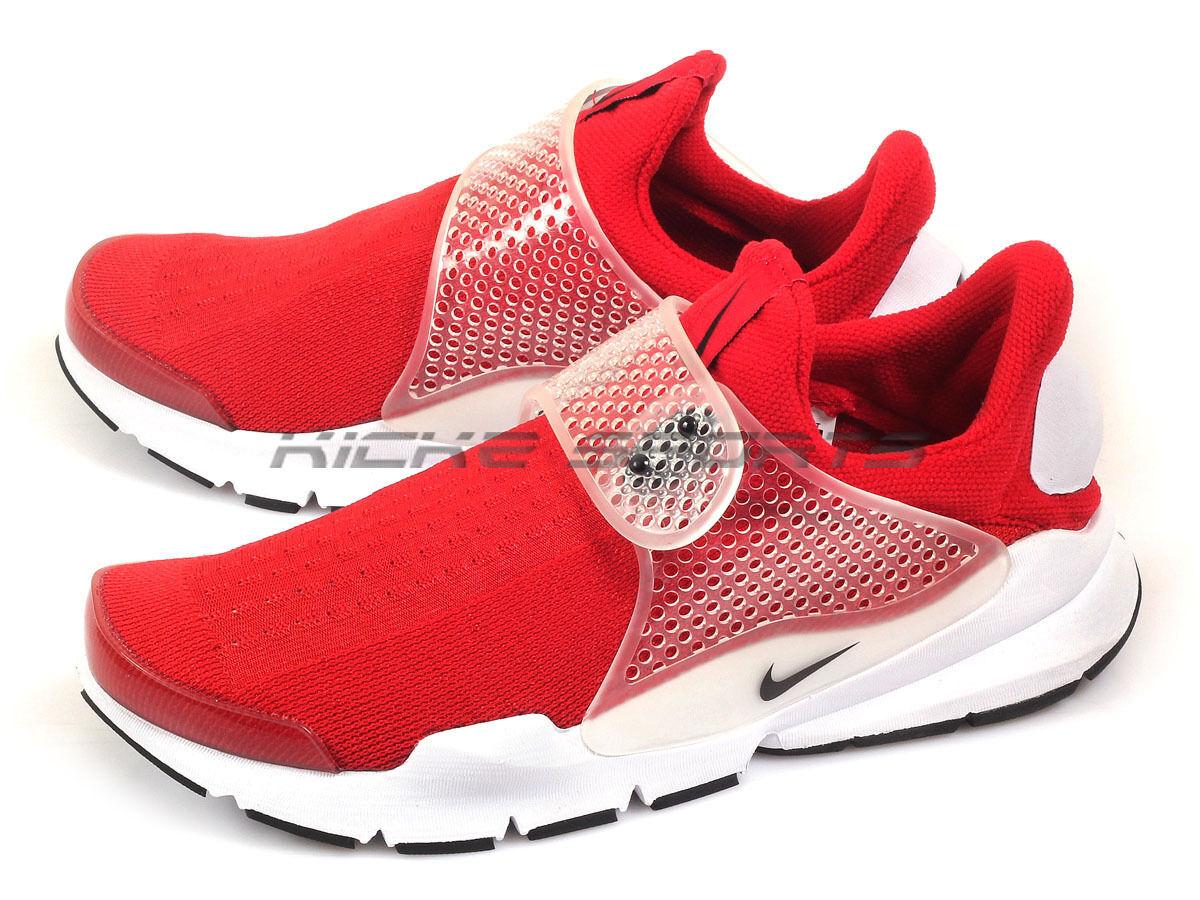 Nike sock dardo 2016 a a a scivolare sulle scarpe casual palestra rosso   bianco nero 819686-601   Qualità Superiore    Sig/Sig Ra Scarpa  bca51e