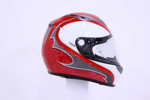 Lazer Kestrel Edera Casco Grigio Rosso S M L XS Casco da Moto Qualità