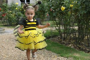 'déguisement Abeille' Insecte Animal Déguisement Fée Costume Contes - 18 / 2 Ans Riche Et Magnifique