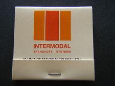 INTERMODAL TRANSPORT SYSTEMS INNOVATORS A UNIT OF MAYNE NICKLESS MATCHBOOK