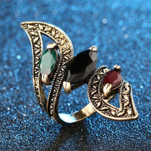 Délicate Résine Bague Femmes Bijoux Rock Anneaux Pour Mariage//Parti Finger Ring