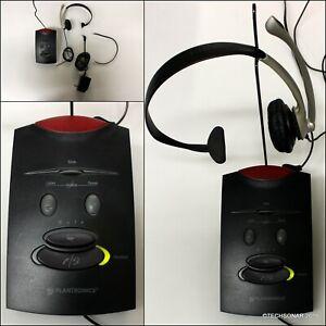 Plantronics-S11-Office-Telephone-System-Headset-Base-amp-AC-Adapter