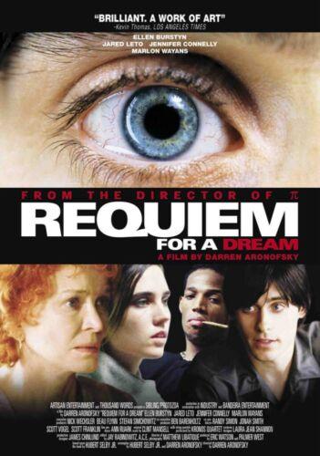 Requiem for a Dream Movie Poster Photo Print 8x10 11x17 16x20 22x28 24x36 27x40