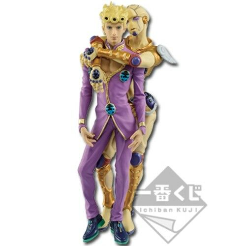 Ichiban Kuji JOJO/'s Bizarre Adventure Golden Wind A Giorno Giovanna Figure 2018