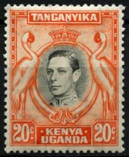 Kenya Uganda & Tanganyika 1938-54 SG#139 20c Black & Orange P13.25 MH #D31156