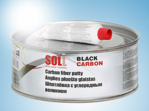 SOLL CARBON highly strong putty for large dents trailers trucks 10x 1kg box