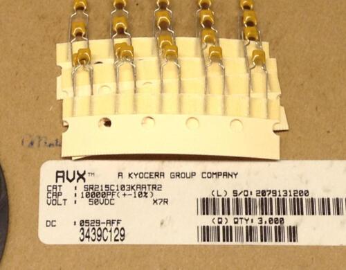 M0599 50V  X7R 10/% Keramik Vielschicht Kondensatoren 20 Stück 10nF
