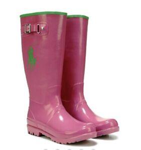 ralph lauren girls rain boots