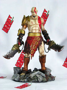 Details About Kratos God Of War Ps3 New Spatan 1 6 Unpainted Figure Resin Model Kit