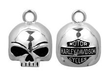 HARLEY DAVIDSON WILLIE G SKULL ROUND B&S RIDE BELL