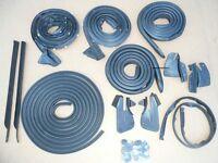 Weatherstrip Seal 13pc Roadrunner Gtx $0 S/h 68-70 B-body Usa Rubber Kit