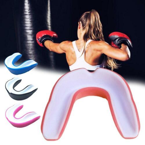 1 piece Silicone Boxing Taekwondo Braces Mouthguard for the sport
