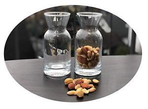 2-Pieces-Mini-Carafe-pour-Noix-Cashew-Kerne-Vin-Whisky-Deco-Pasabahce-43818