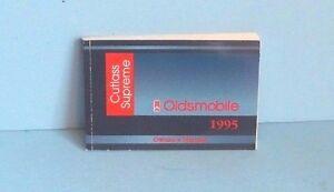 1995 oldsmobile cutlass supreme parts manual