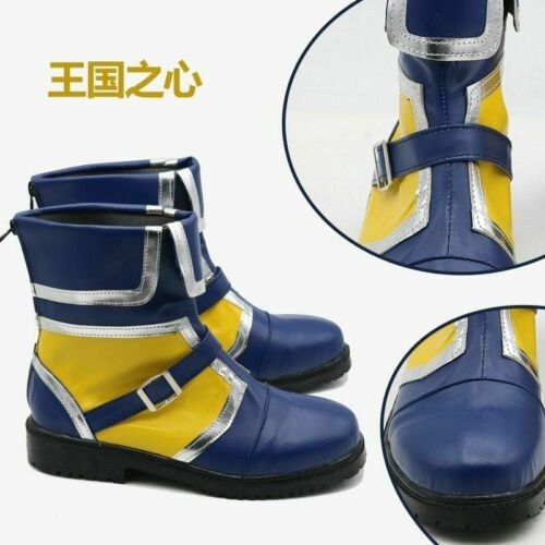 Kingdom Hearts 3 Sora Short ver Cosplay Boots Shoes Anime Halloween Christmas!Q9