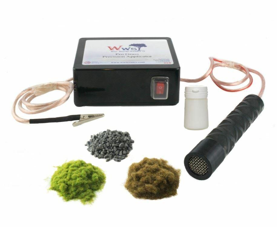 WWS Kit Gare de Triage et Pro Grass de précision - Modélisme Ferroviaire