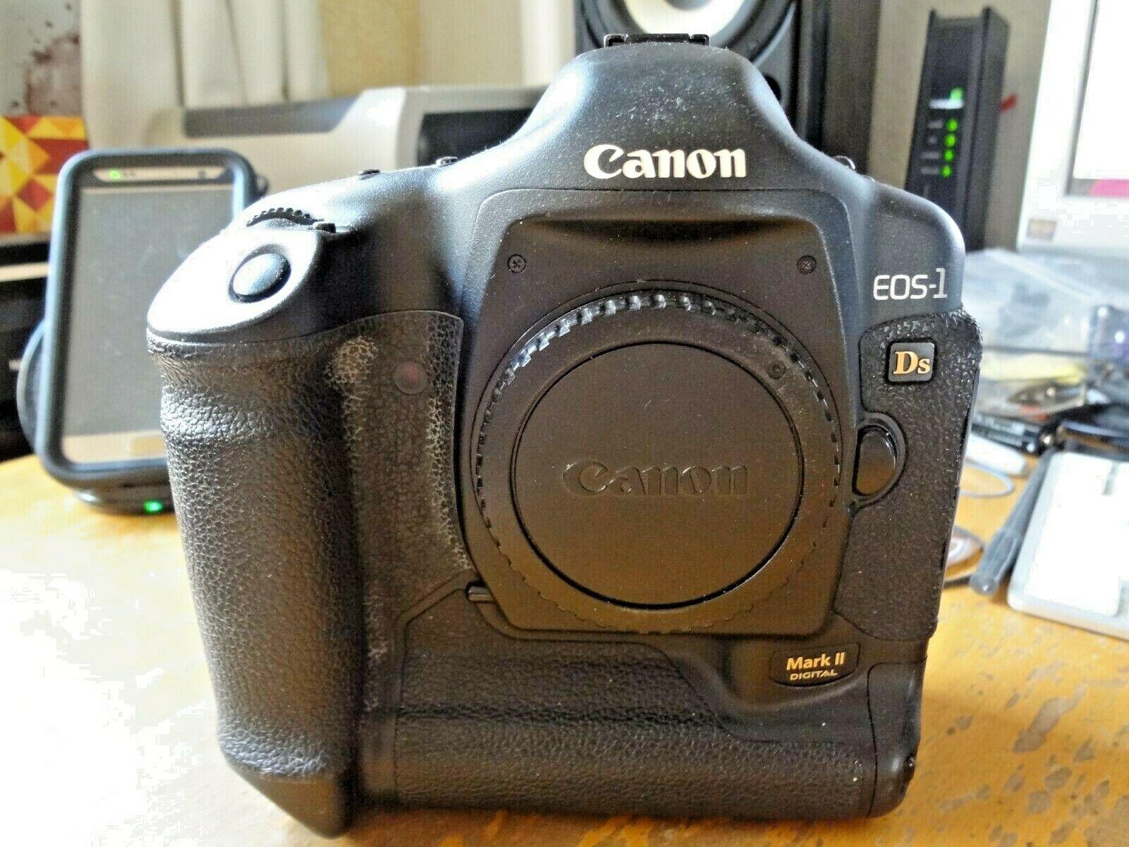Canon Eos 1ds Mark Ii 9443a002 16 7mp Digital Slr Camera Black For Sale Online Ebay