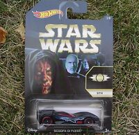2015 Star Wars 2/8 Sith Hot Wheels Scoopa Di Fuego Ckj46 Sealed In Pack