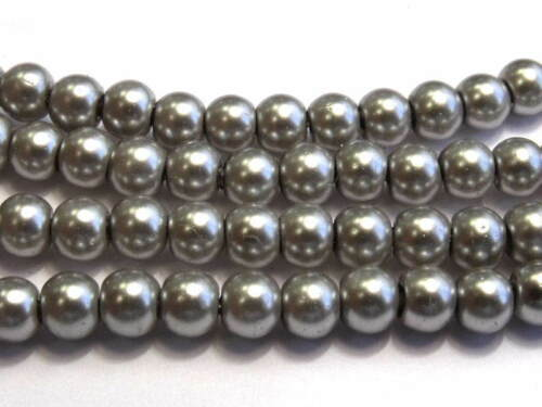 Various Colours 3mm//1mm hole 200 beads Glass Pearls 3mm