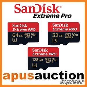 SanDisk-Extreme-Pro-32G-64G-128G-micro-SD-SDHC-SDXC-Memory-Card-V30-170MB-s-4K