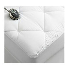 Sunbeam Premium Luxury Quilted Electric Heated Mattress Pad - Full Size