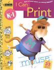 Sawb:I Can Print-Grades K-1 by Golden Books (Paperback, 2003)