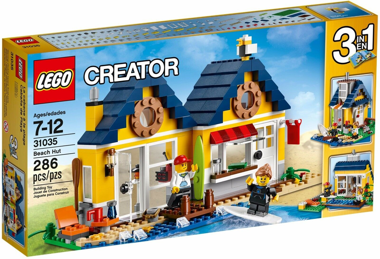 LEGO Creator Beach Hut ()(Retired 2015)(Rare)(NEW)