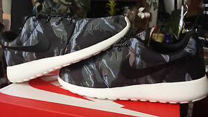 reputable site c9104 4165b Image is loading Nike-Roshe-Run-Black-Tiger-Camo-Tree-GPX-