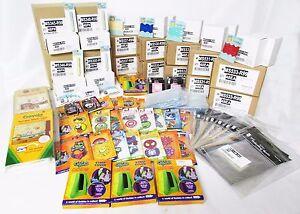Wholesale Resale Craft Supplies Scrapbook Color Trim Photo Sleeves Lot of 1,111