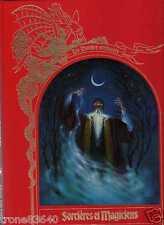 LES MONDES ENCHANTES/..SORCIERES ET MAGICIENS../GRAND LIVRE ILLUSTRE-FANTASY