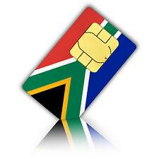 SIM Karte für Südafrika mit 500 MB und 100 int. Minuten (Nano)