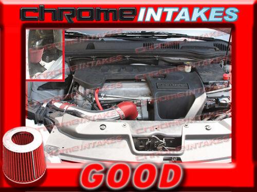 RED 2007 2008 2009 PONTIAC G5 G 5 2.2 2.2L 2.4 2.4L I4 COLD AIR INTAKE KIT