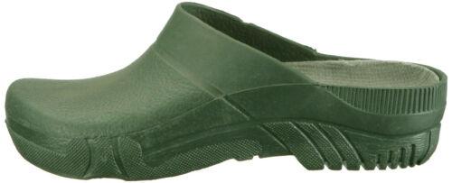 herausnehmbares Fußbett  NEU Gartenclog PVC Clogs oliv-grün anatomisch geformt