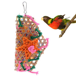 Grass-Pet-Bird-Parrot-Swing-Cage-Toy-Foraging-Toys-Chew-Bites-for-Playing-ToyZS