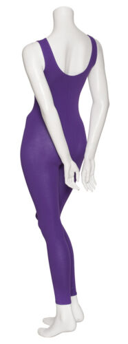 Girls Ladies All Colours Cotton Sleeveless Footless Catsuit Unitard KDC056
